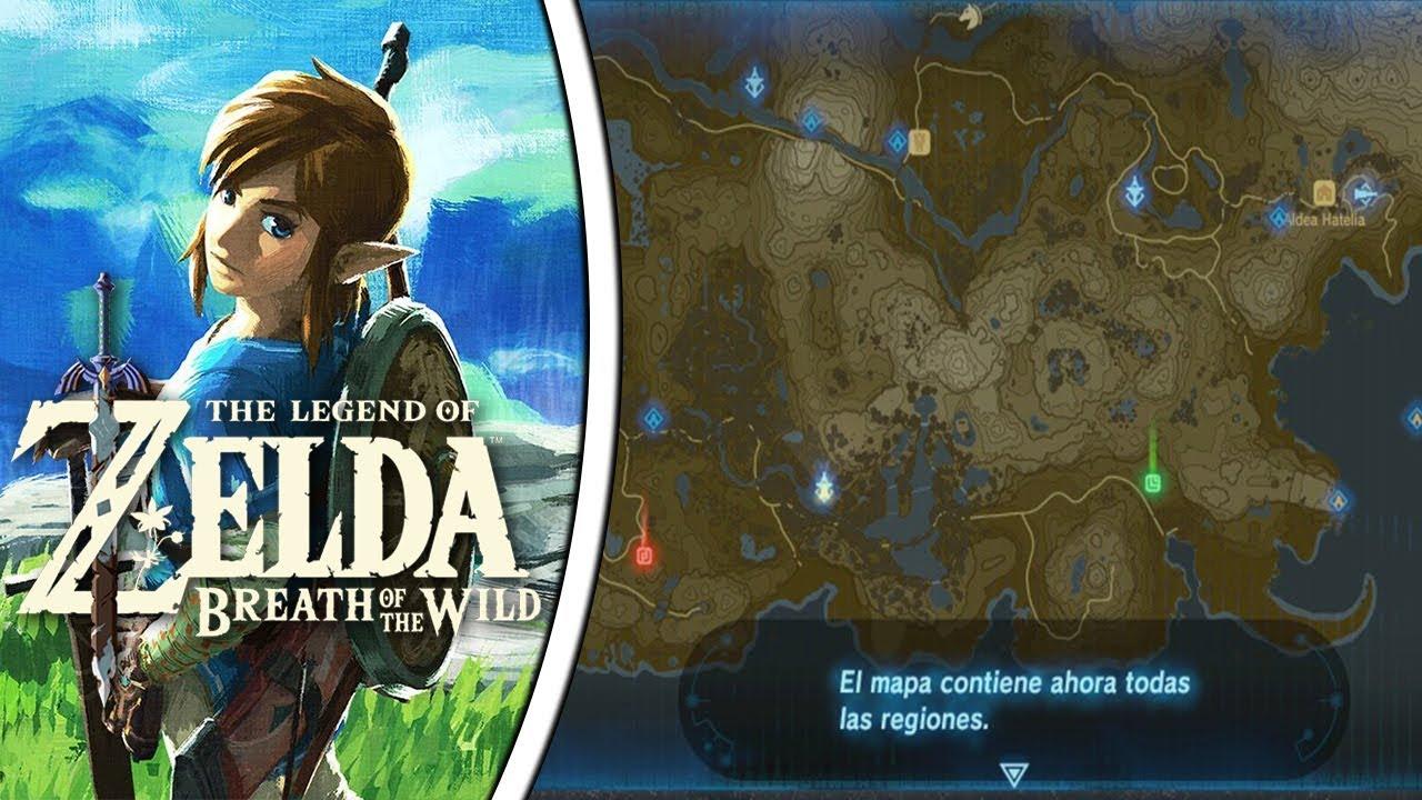 Todas Las Torres The Legend Of Zelda Breath Of The Wild Ep 47 Youtube