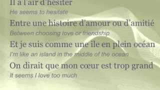 """Céline Dion - """"D'amour ou d'amitié"""" (ENGLISH TRANSLATION)"""