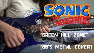 Baixar - Sonic The Hedgehog Green Hill Zone 80 S Metal Cover Grátis