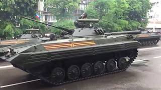 Луганск 9 мая парад победы  , военный парад, парад техники ,День победы 2019   ЛНР