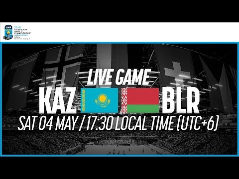 Kazakhstan Vs. Belarus | Full Game | 2019 IIHF Ice Hockey World Championship Division I Group A
