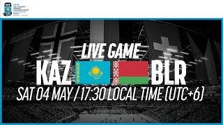 Kazakhstan vs. Belarus | Full Game | 2019 IIHF Ice Hockey World Championship Division I Group A
