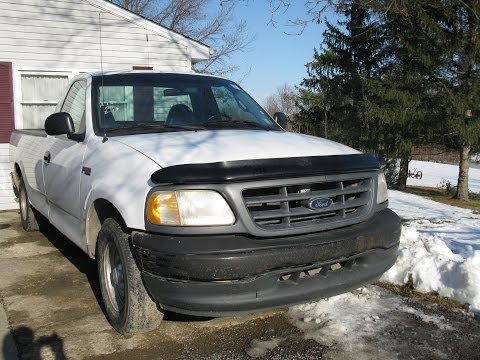 2000 Ford F150 4.2L V6 Work Truck Start Up and Tour