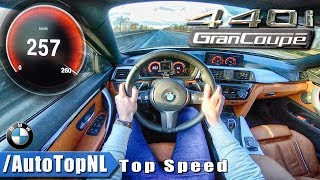 BMW 4 SERIES GRAN COUPE 440i M Sport xDrive | ACCELERATION & TOP SPEED | AUTOBAHN POV by AutoTopNL
