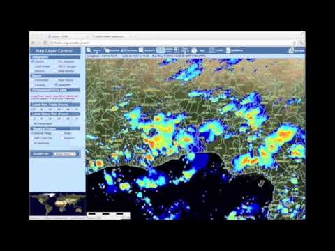 (Korean version) CHRS G-WADI GeoServer tutorial -- global precipitation data visualization