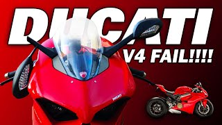 Things we don't like about the Ducati Panigale V4