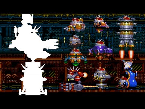 The real Final Boss in Sonic 3 & Knuckles : sprite animation