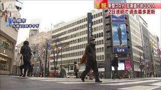 北海道で新たに約300人感染 2日連続で最多更新(2020年11月20日) - YouTube