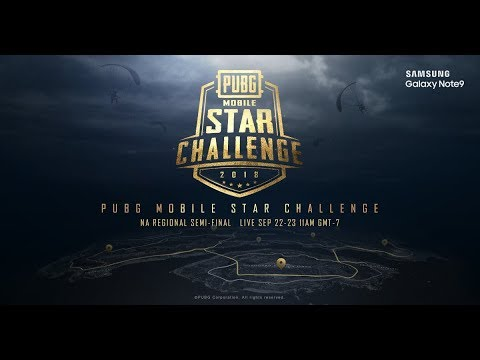 PMSC NA Semi-Finals Day 2 | Galaxy Note9 PUBG MOBILE STAR CHALLENGE- North America Semi-Finals Day 2