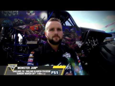 Monster Jam in Oakland - Sunday, March 26 on FS1