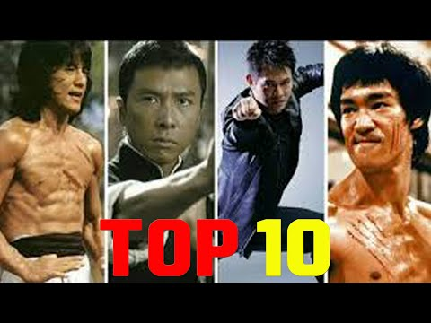 Top 10 Greatest Martial Arts Chinese Actors I Kung Fu Actor I The Best Action in Movies