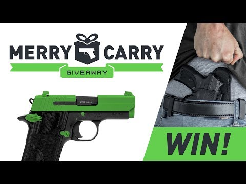 Sig P938 Giveaway - Merry Carry Christmas Contest | Alien Gear Holsters