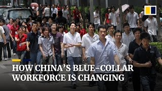 Millions of new blue-collar jobs are piling on pressure for many workers in China