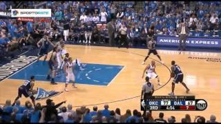 Oklahoma City Thunder vs Dallas Mavericks. Game #3. Playoffs NBA 2016