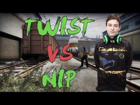 CSGO: POV GODSENT twist vs NiP (35/21) train @ DreamHack Masters Malmö 2016