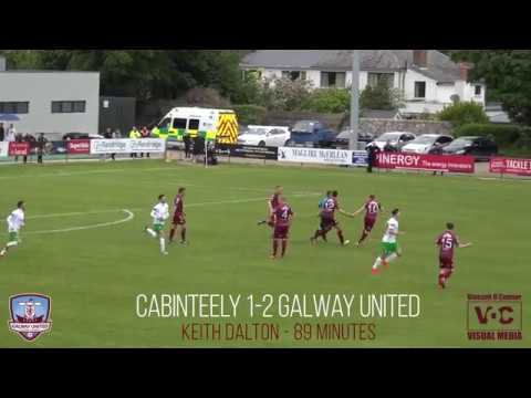 Bizzare goal scored in the Galway United-Cabinteely game today HD