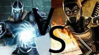Scorpion vs Sub-Zero theme
