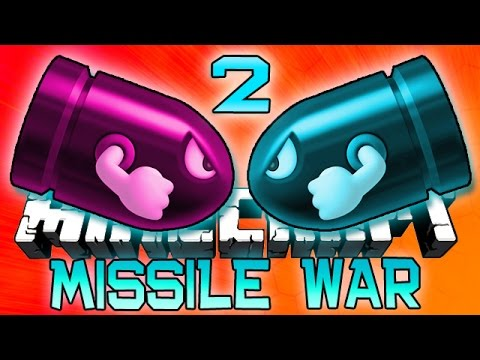 Minecraft: MISSILE WARS 2! New 1.8 Mini-Game w/Bajan Canadian and Friends!