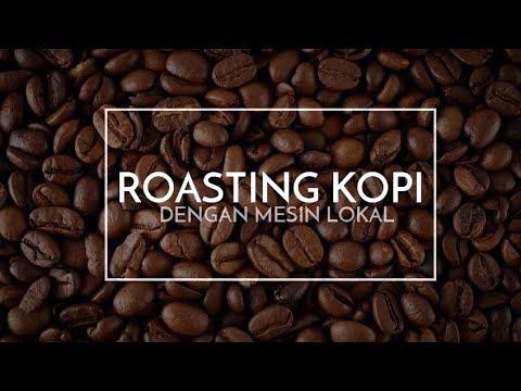 Roasting Kopi, Pentingkah | Mesin Sangrai Kopi Lokal Indonesia