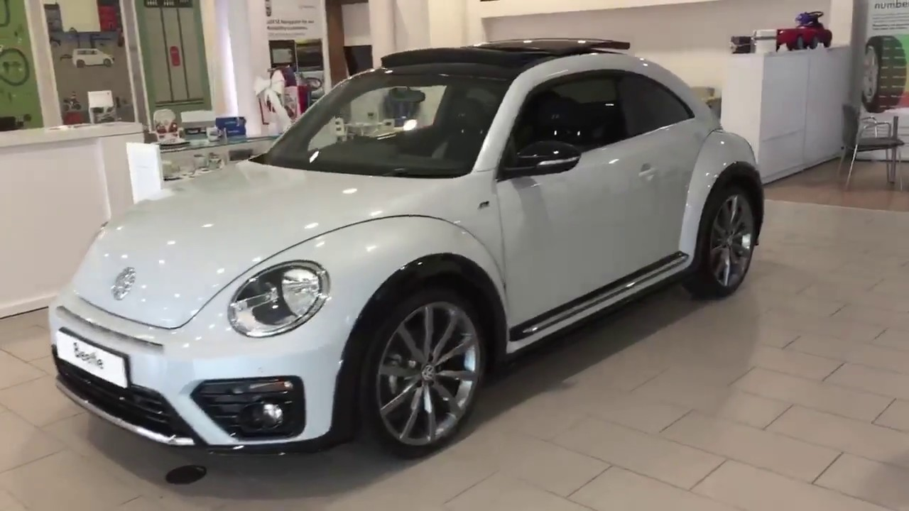 Volkswagen Beetle R Line 2 0tdi 150ps In White Silver Metallic Crewe Vw
