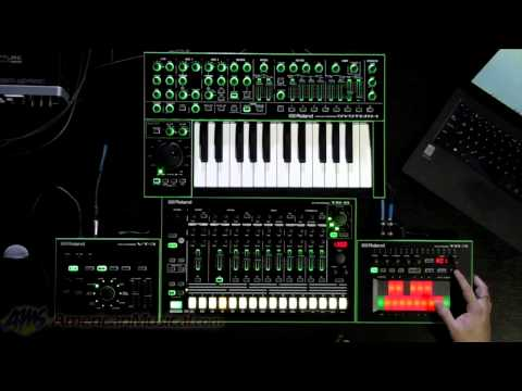 Roland Aira System-1, TR-8, TB-3 and VT-3 Systems - Roland Aira