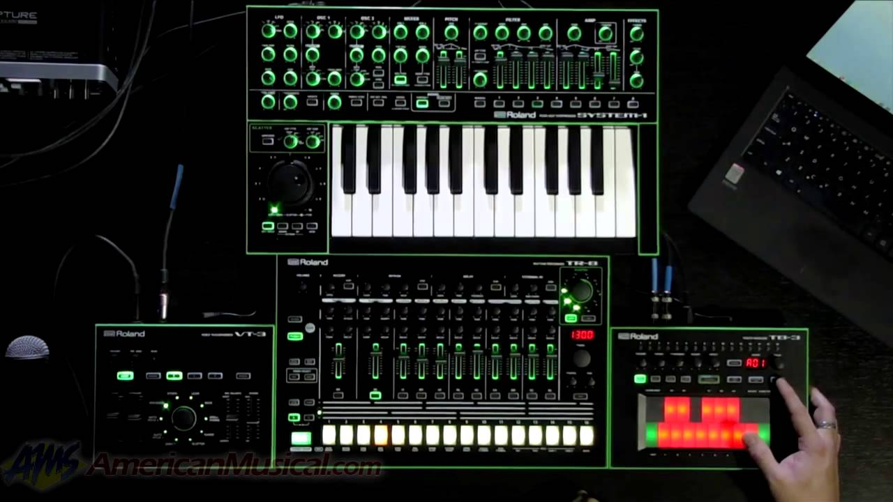 Roland Aira System 1 Tr 8 Tb 3 And Vt Systems Tr8 Wiring Diagram Youtube