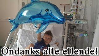 Vlog 179: Plezier maken in het ziekenhuis! (Operatie Jayden 4jr )