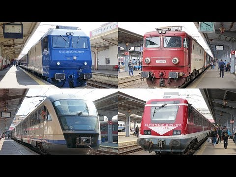 [Bucureşti Nord] Trains in Bucharest