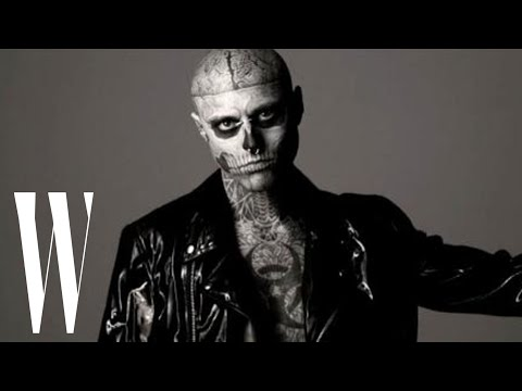 Thierry Mugler Mens Fall/Winter 2011 Featuring Zombie Boy Rick Genest | Fashion Films | W Magazine