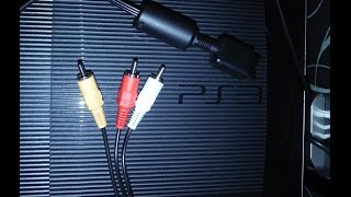 Как подключить PS3 к старому телевизору?(Подробная пошаговая инструкция по подключению Playstation 3 к старому телевизору, используя кабель AV (тюльпаны)., 2014-11-09T10:58:24.000Z)