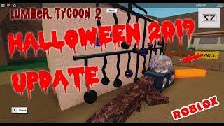 Halloween 2019 Update - Lumber Tycoon 2 - Roblox