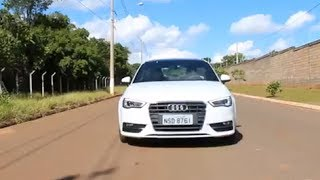 avaliao audi a3 sport 1 8 tfsi   canal top speed