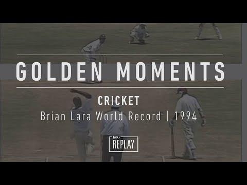 Brian Lara World Record 1994 England v West Indies   Cricket