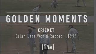Brian Lara World Record