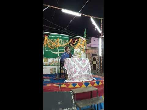 Mohharam Bayan By Sayyed Mohammad Vasim Bapu Ashrafi At Sumra Colony - Rajkot, Gujarat