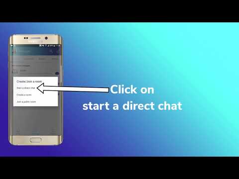 Citadel Team Tutorial - Inviting Someone To A Private Chat On Smartphone Applications