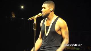 USHER  URX TOUR ATLANTA (There Goes My Baby/U Got It Bad)