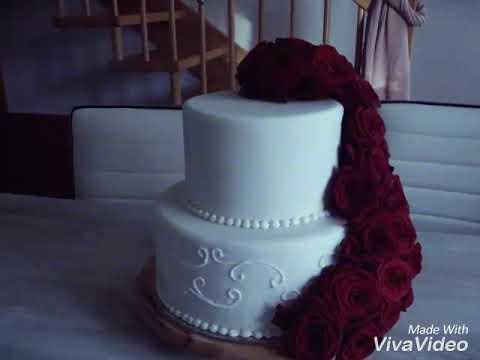 Hochzeitstorte Motivtorte Mit Fondant