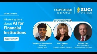 Webinar - Common Misconceptions about AI for Financial Institutions