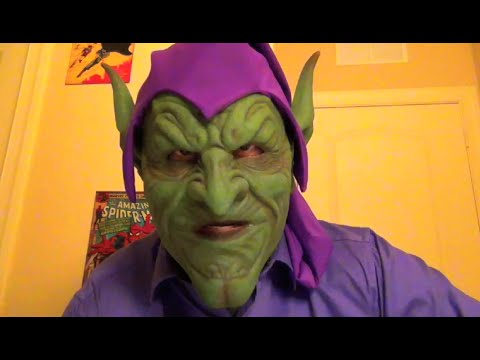 New Silicone Green Goblin Mask Just Arrived Review