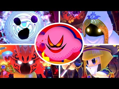 Kirby Star Allies - Soul Melter Boss Rush (The Ultimate Choice)