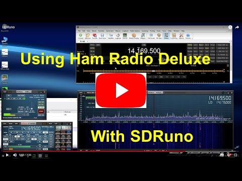 Using Ham Radio Deluxe with SDRuno (AN008)