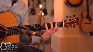 Sobell New World Acoustic Guitar Played By Stuart Ryan (Part One)