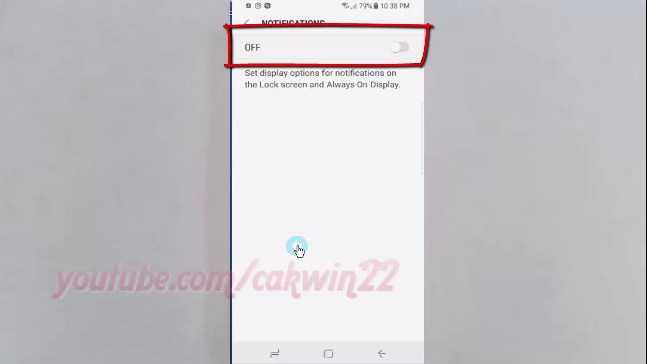 how to make notifications private on lockscreeb s8