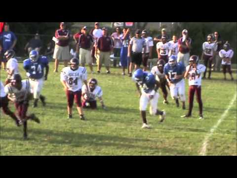 2011 West Carter Middle School Warriors Football