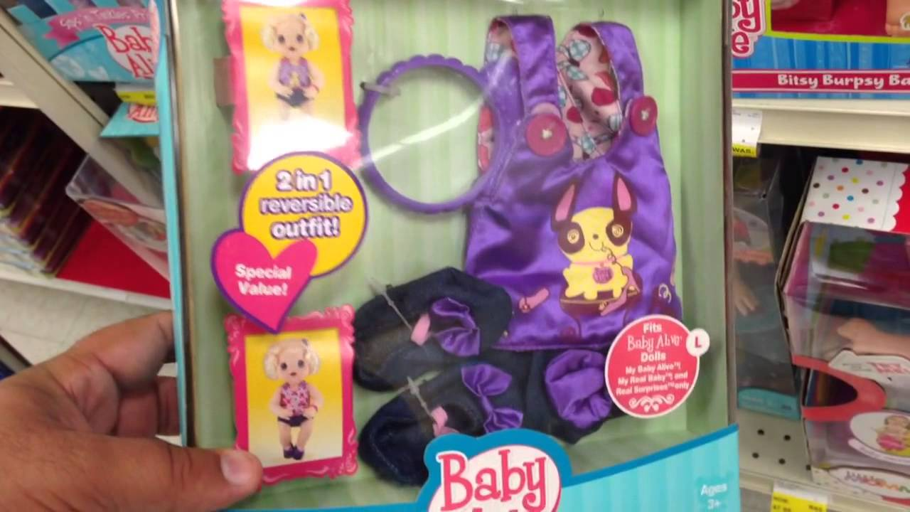 BABY ALIVE Sweet & Sassy Reversible Jumper Set [Baby ...