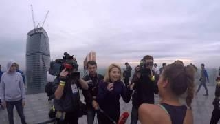 Вертикальный забег в Москва-Сити