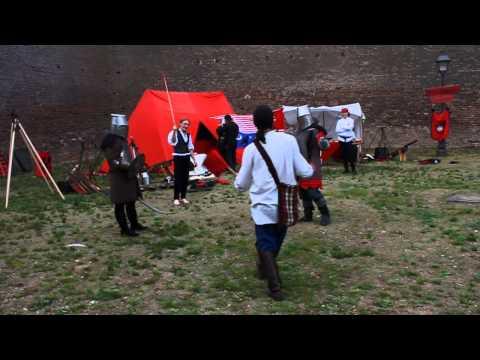 VIDEO Alba24.ro: Spectacol interactiv  - Ordinul Dragonilor din Transilvania