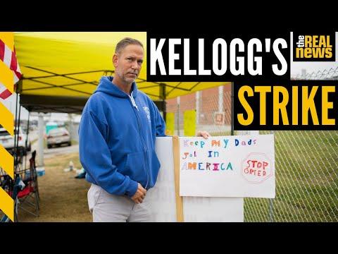 Kellogg's workers across US go on STRIKE