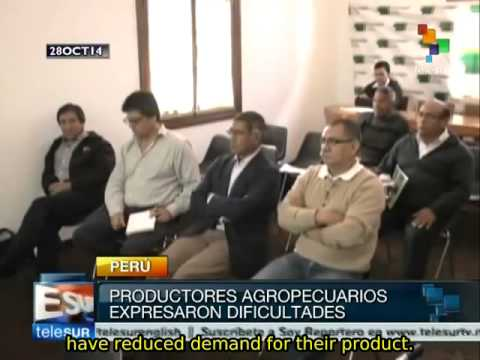 Peruvian farmers suffer effects of international trade agreements
